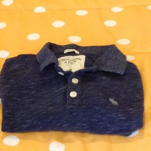 Abercrombie and Fitch men's long sleeved polo.